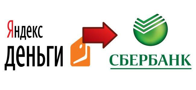 Инструкция для перевода с Яндекс на карту Сбербанка