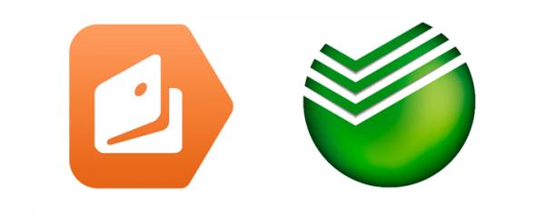 Логотипы Яндекс.Деньги и Сбербанк